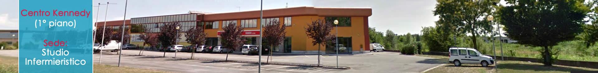 Banner-grande-esterno-Centro-Kennedy-Fossalta-di-Portogruaro-sede-Studio-Infermieristico-di-Maria-Lentini